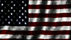 Abstract American flag animated loop - stock footage