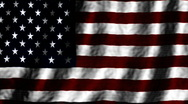 Stock Video Footage of Abstract American flag animated loop