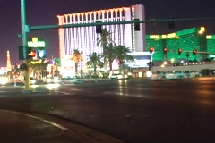 Vegas-South Strip Time Lapse - stock footage