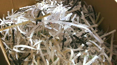 Shredded Paper - stock footage