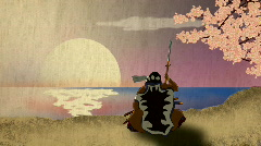 Samurai Stock Footage