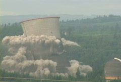 Nuclear Power Explosion Stock Footage