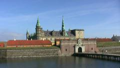 Castle Kronborg Stock Footage