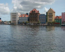 PAL: Willemstad, Netherlands Antilles Stock Footage