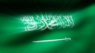 Flag FX - Saudi Arabia - HD24p Stock Footage