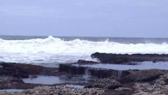 sea water - stock footage