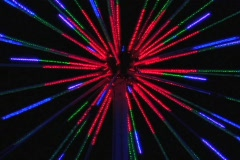 ABSTRACT LIGHT SHOW Stock Footage
