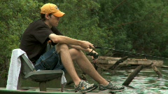 Fishing 10 Stock Footage