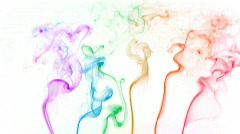 Color smoke 01 Stock Footage