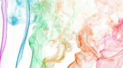 Color smoke 02 Stock Footage