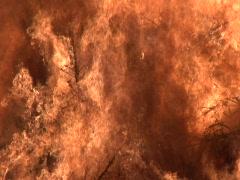 Burning Heap - stock footage