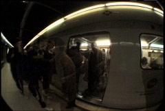 Subway Shots - stock footage