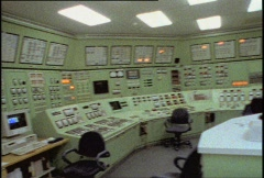 Hanford Control Room 1 Stock Footage