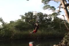 Rope Swing 08 Stock Footage
