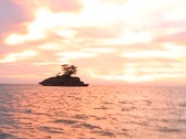 Boat Ride at Sunset in Jamaica 04 Stock Footage