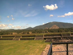 Teotihuacán Temple 11 Stock Footage