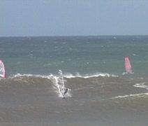 Windsurfing 1 Stock Footage