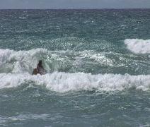 Ocean Kayaking 8 Stock Footage
