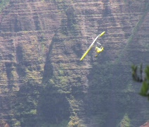Power Hangglider 1 Stock Footage