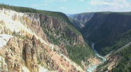 Stock Video Footage of Grand Canyon of the Yellowstone
