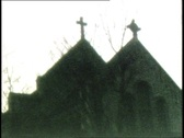Stock Video Footage of Church Silhouette