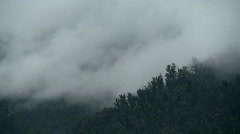 Steam Rising from Hills, Snowy Mountains Australia Stock Footage