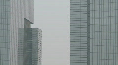 Samsung Town buildings in Seoul, South Korea Stock Footage