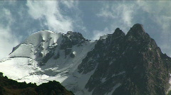 The Mountain tops 111 P. Stock Footage