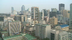 Seoul Skyline - stock footage