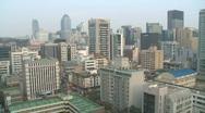 Seoul Skyline Stock Footage