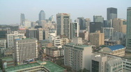 Stock Video Footage of gangnam pagoda in Seoul Korea