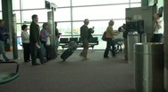 Stock Video Footage of airport terminal