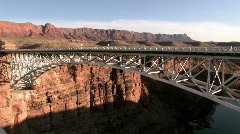 Navajo Bridge pan P HD Stock Footage