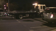 Tow truck arrives Stock Footage