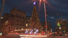 XmasTree Lapse 1 - stock footage
