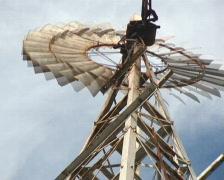 PAL: Windmill - stock footage