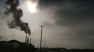 Stock Video Footage of Air pollution