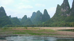 China. Guilin (5) Stock Footage