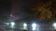 Stock Video Footage of Foggy Night