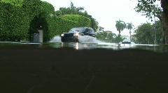 Flood: Flooded Street Stock Footage