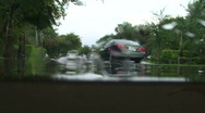 Stock Video Footage of Street Flooding