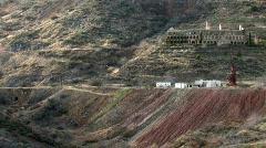 Jerome Arizona mines P HD Stock Footage
