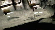 Stock Video Footage of Engine oil leak