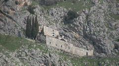 Saint Michael church near Benevento Stock Footage