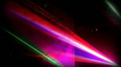 messe laser01 - stock footage