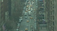 Stock Video Footage of New York City Traffic