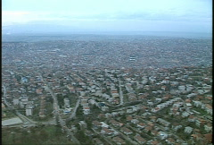 Kosovo, former Yugoslavia immediate post war, helicopter flight, #26 Stock Footage
