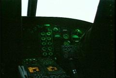 Kosovo, former Yugoslavia, helicopter flight, #4 - stock footage