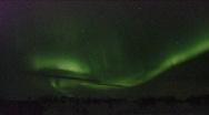 Northern Lights, Karaskok, Norway Stock Footage