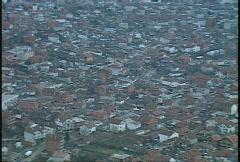 Kosovo, former Yugoslavia immediate post war, helicopter flight, #32 Stock Footage